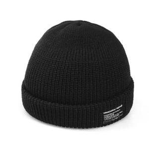 BEANIE / MONK FIT / SOLID BLACK