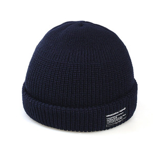 BEANIE / MONK FIT / SOLID NAVY