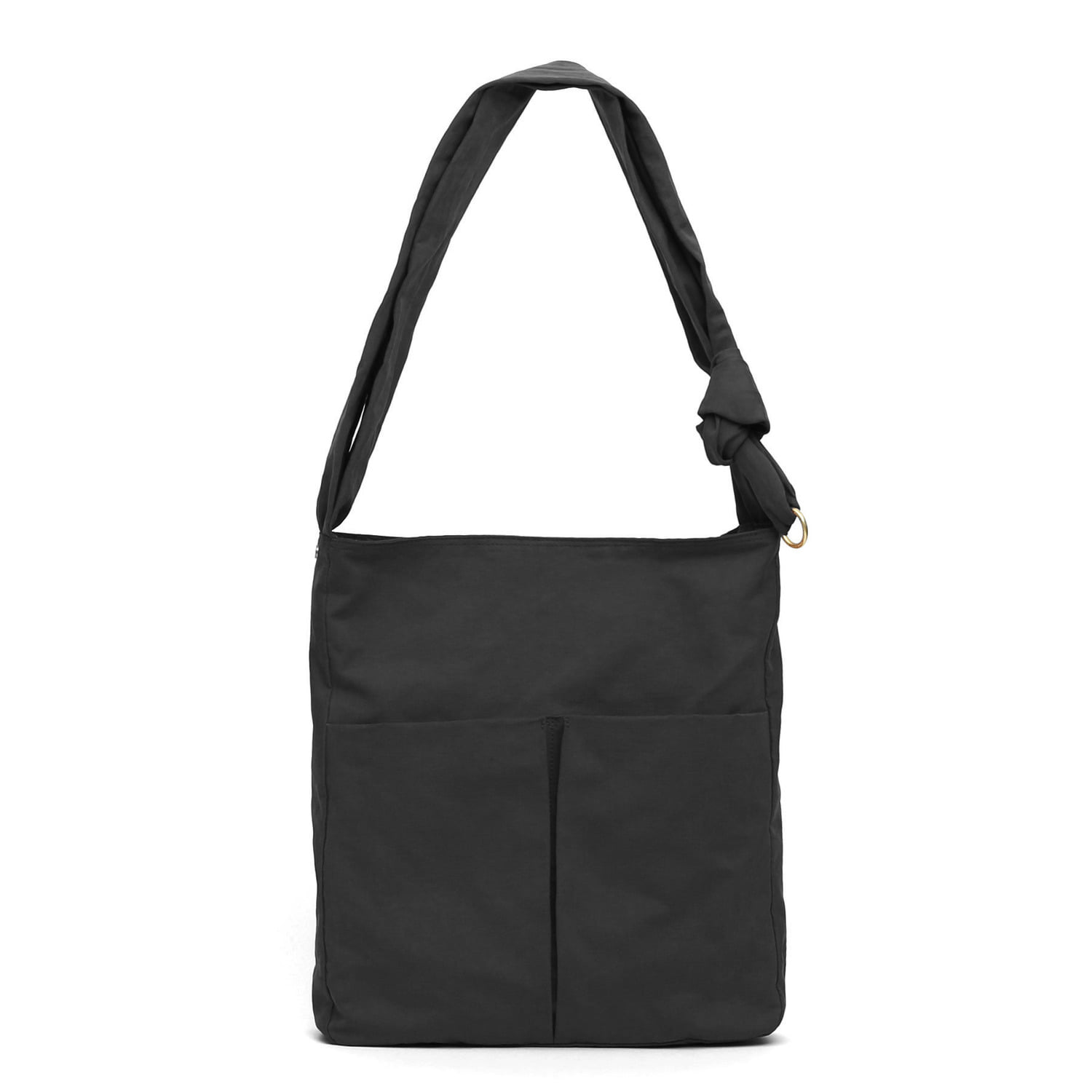 [2차 재입고] SQUARE BAG / WRINKLE / NPC / DARK BLACK