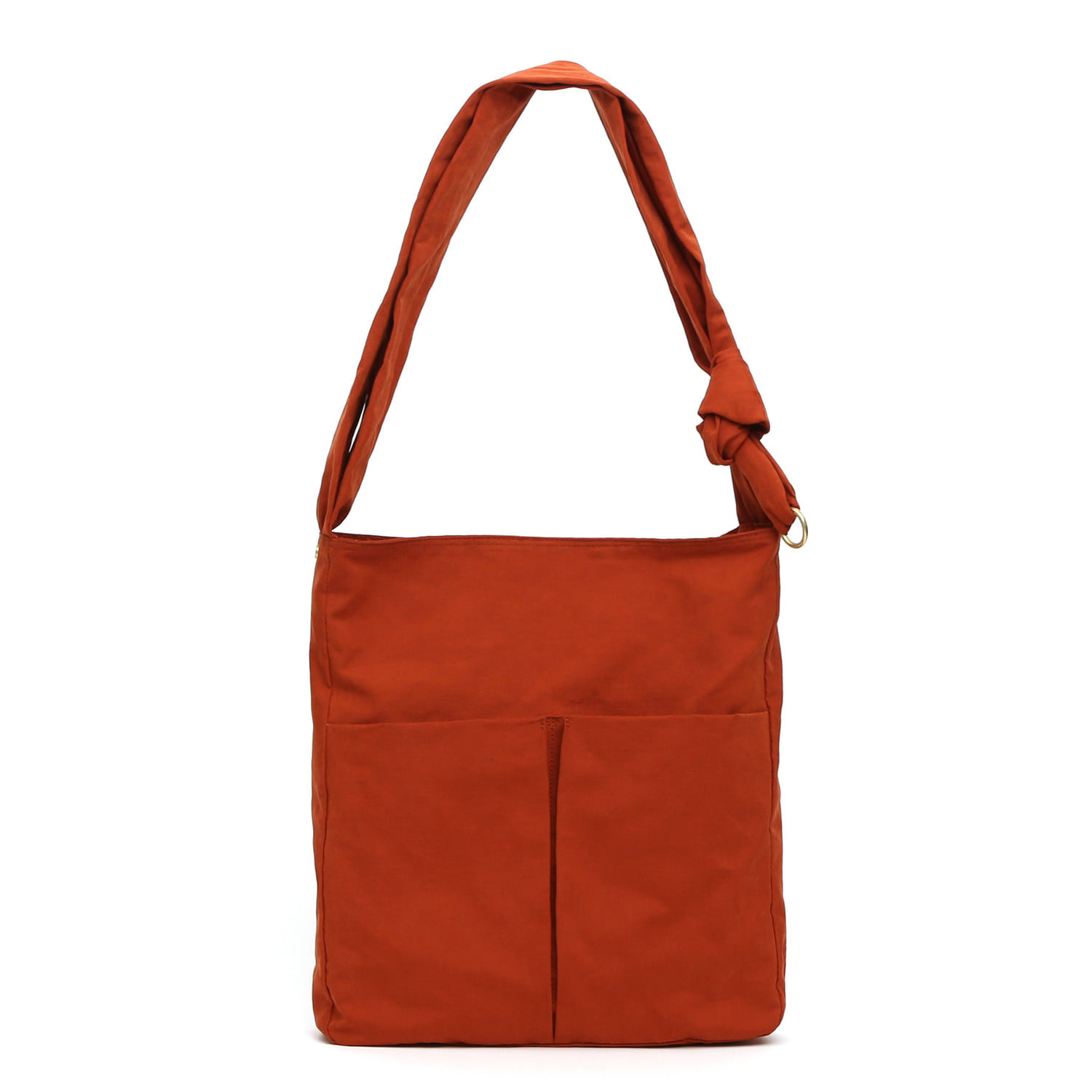 [2차 재입고] SQUARE BAG / WRINKLE / NPC / BRICK ORANGE