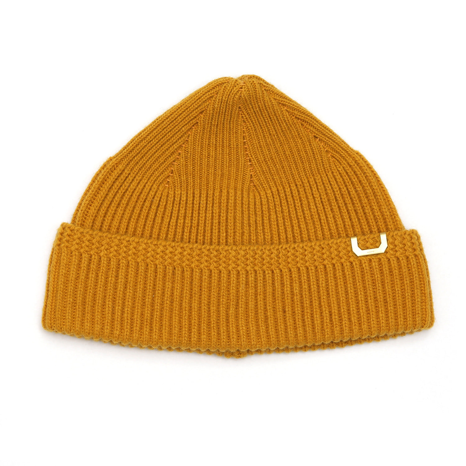 WATCH CAP / LAMBS WOOL / PS MUSTARD