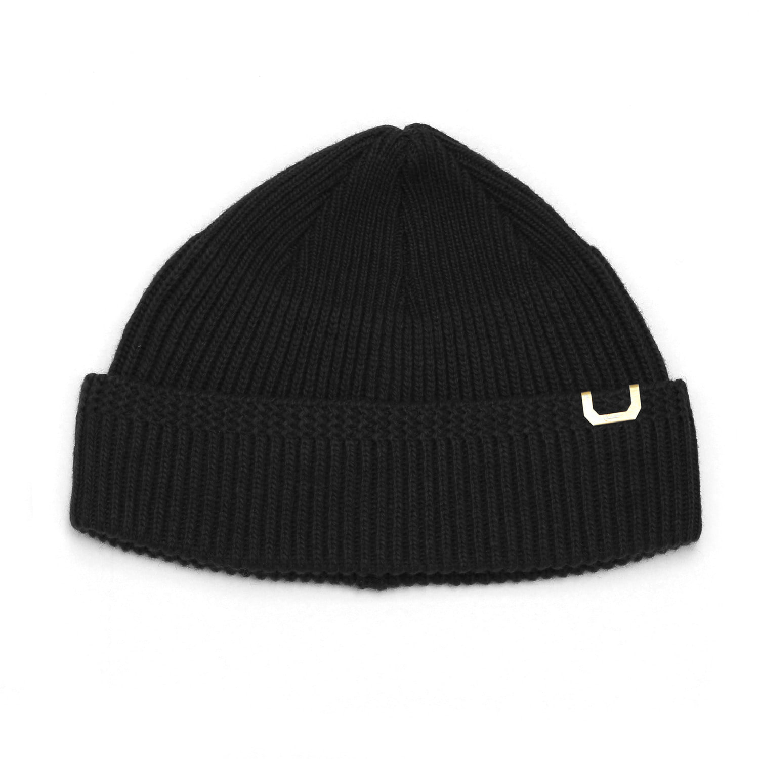 WATCH CAP / LAMBS WOOL / PS BLACK