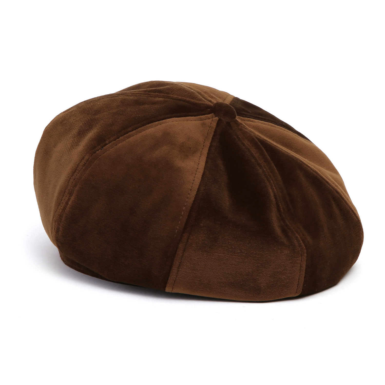 [2차 재입고] BREAD BERET / VELVET / MINK BROWN