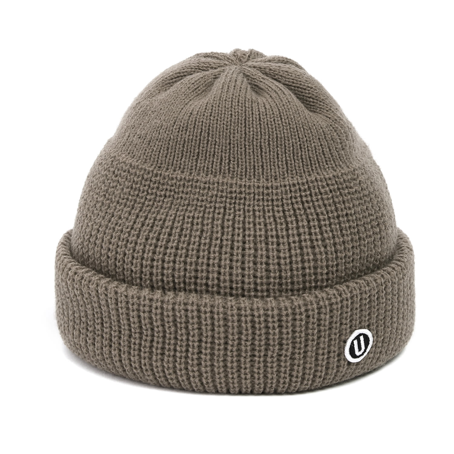 BEANIE / MONK FIT / U LOGO / K GREY