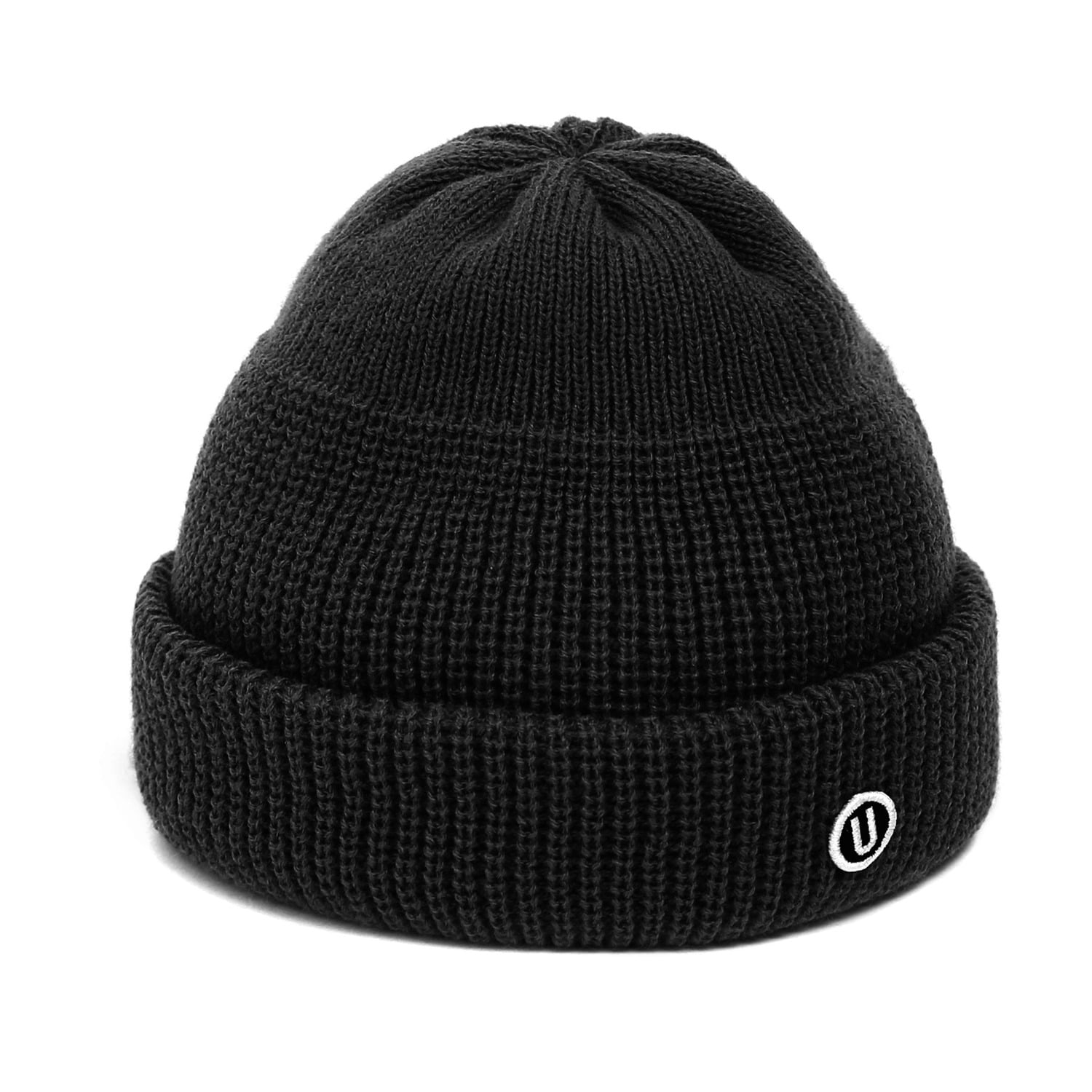 BEANIE / MONK FIT / U LOGO / M BLACK