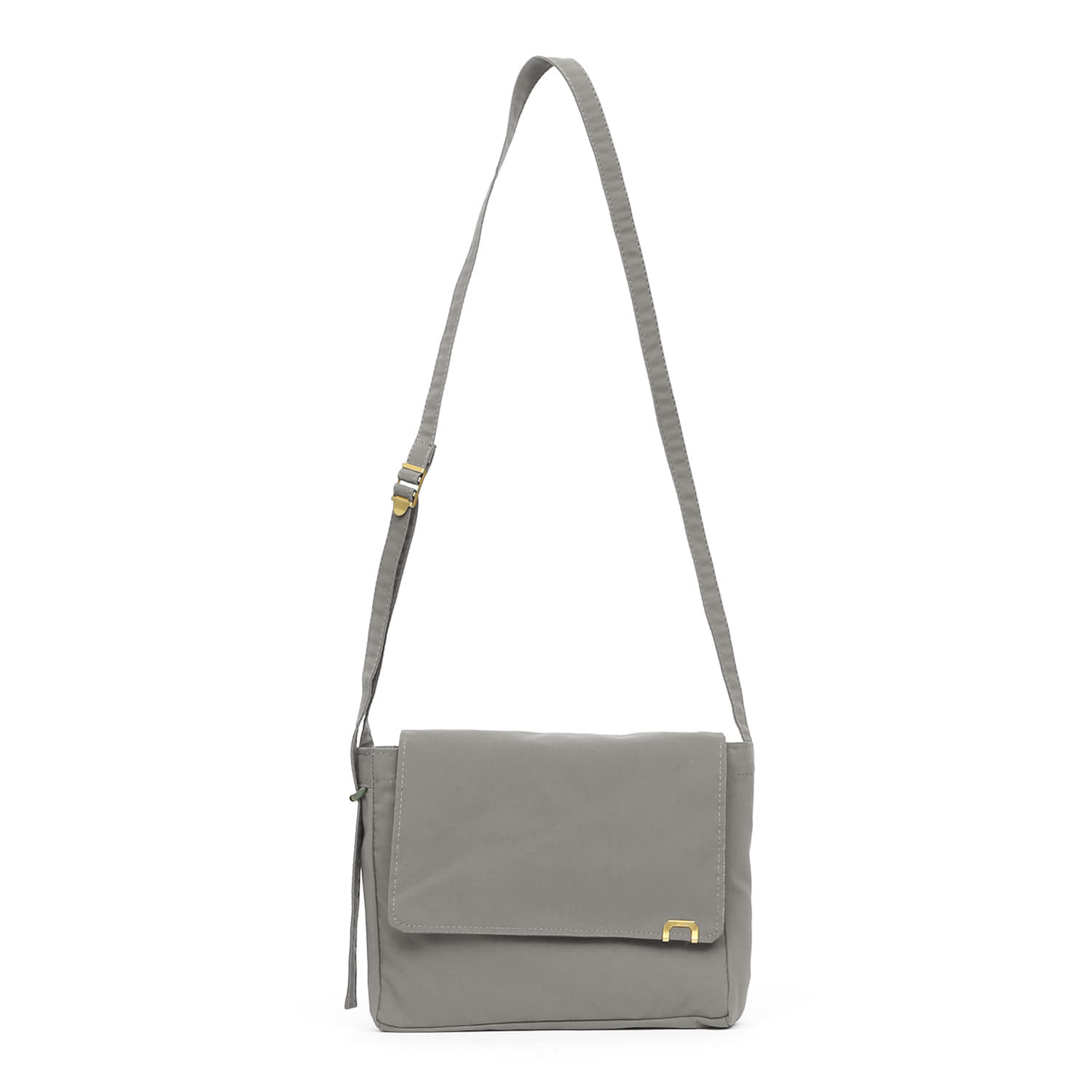 SQUARE MINI BAG / ROPE PIPE / NC / W GREY