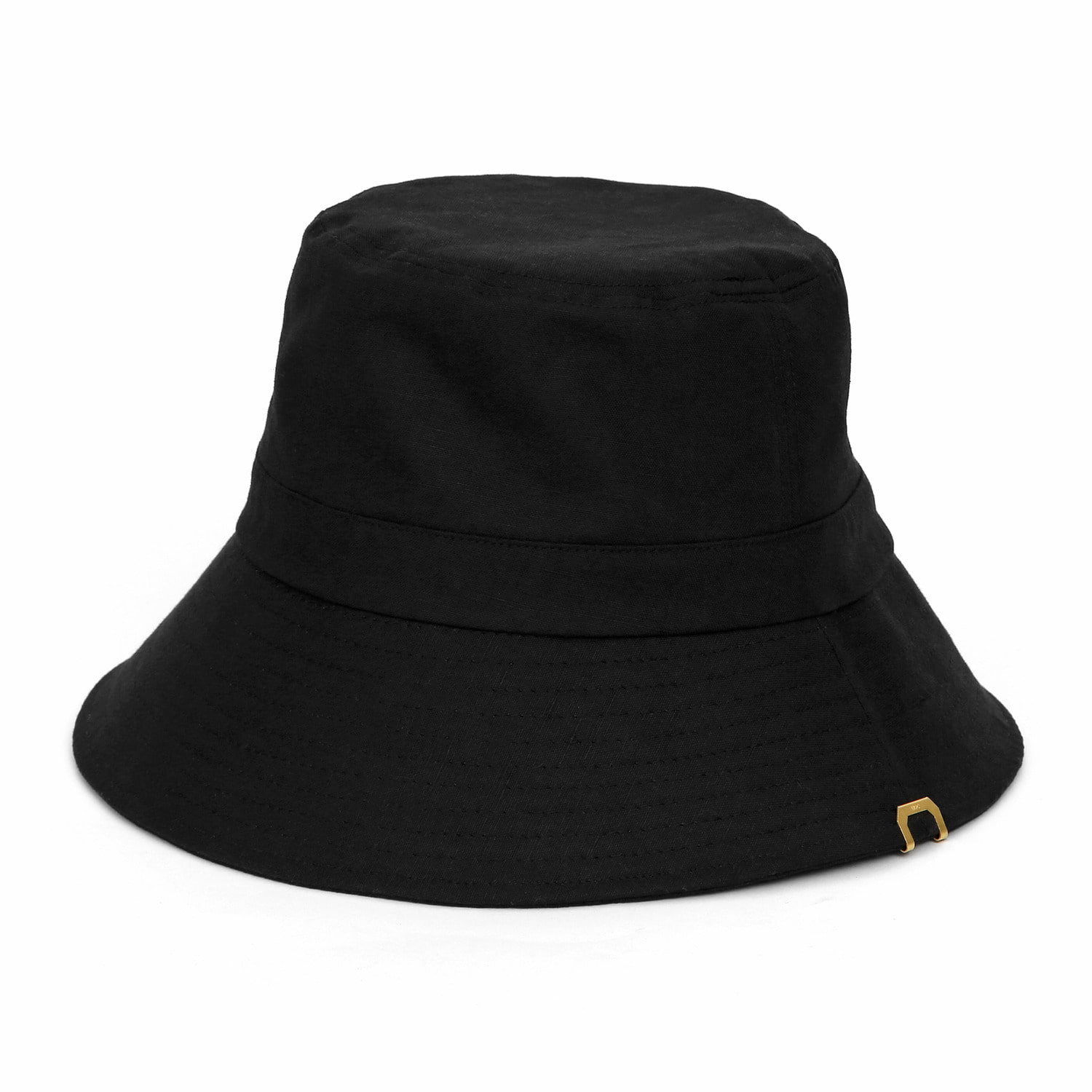 HIDE BUCKET / LINEN / BLACK