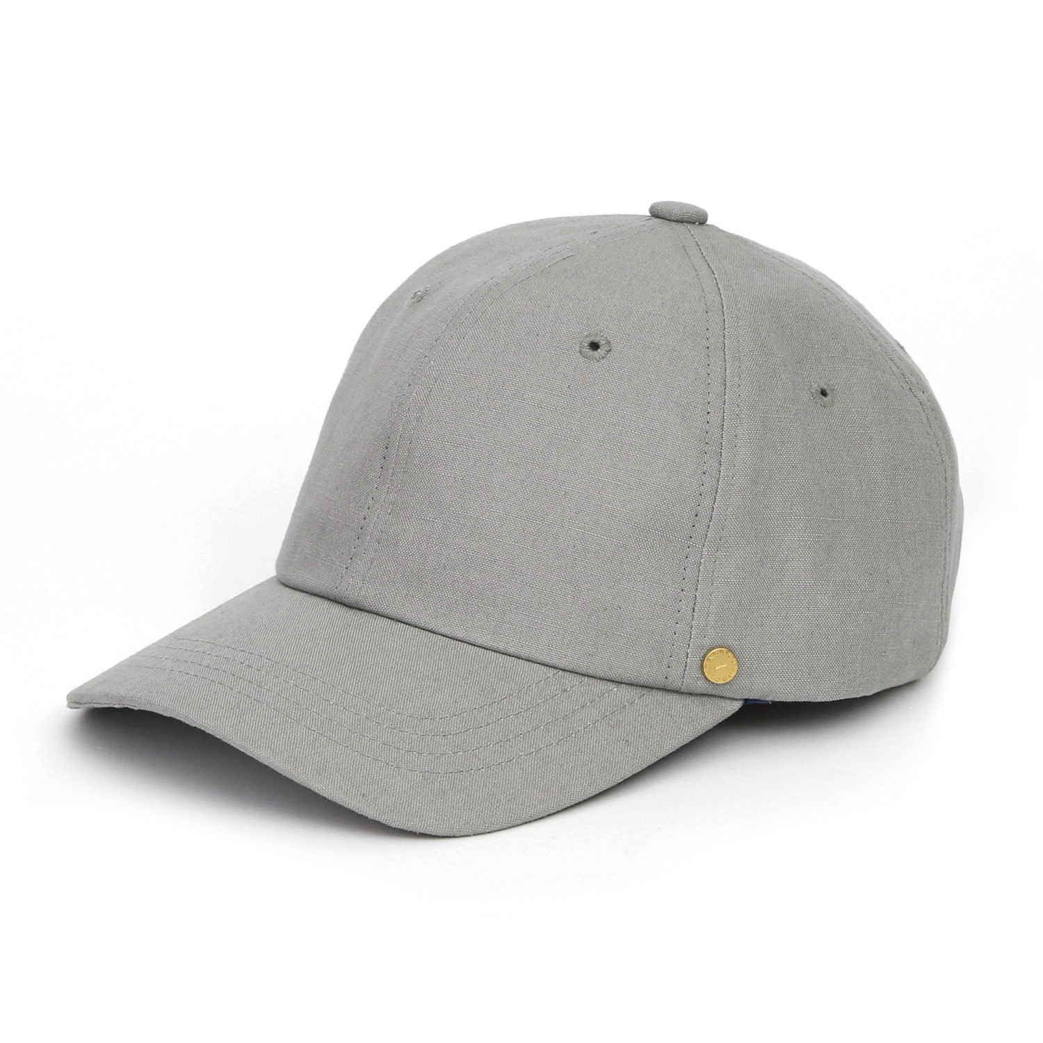 6PANNEL BALL CAP / LINEN / GREY
