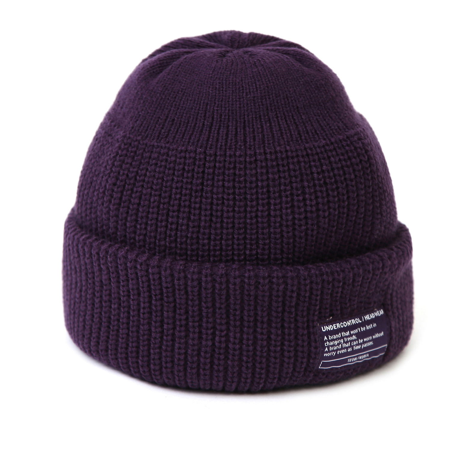 BEANIE / MONK FIT / PURPLE