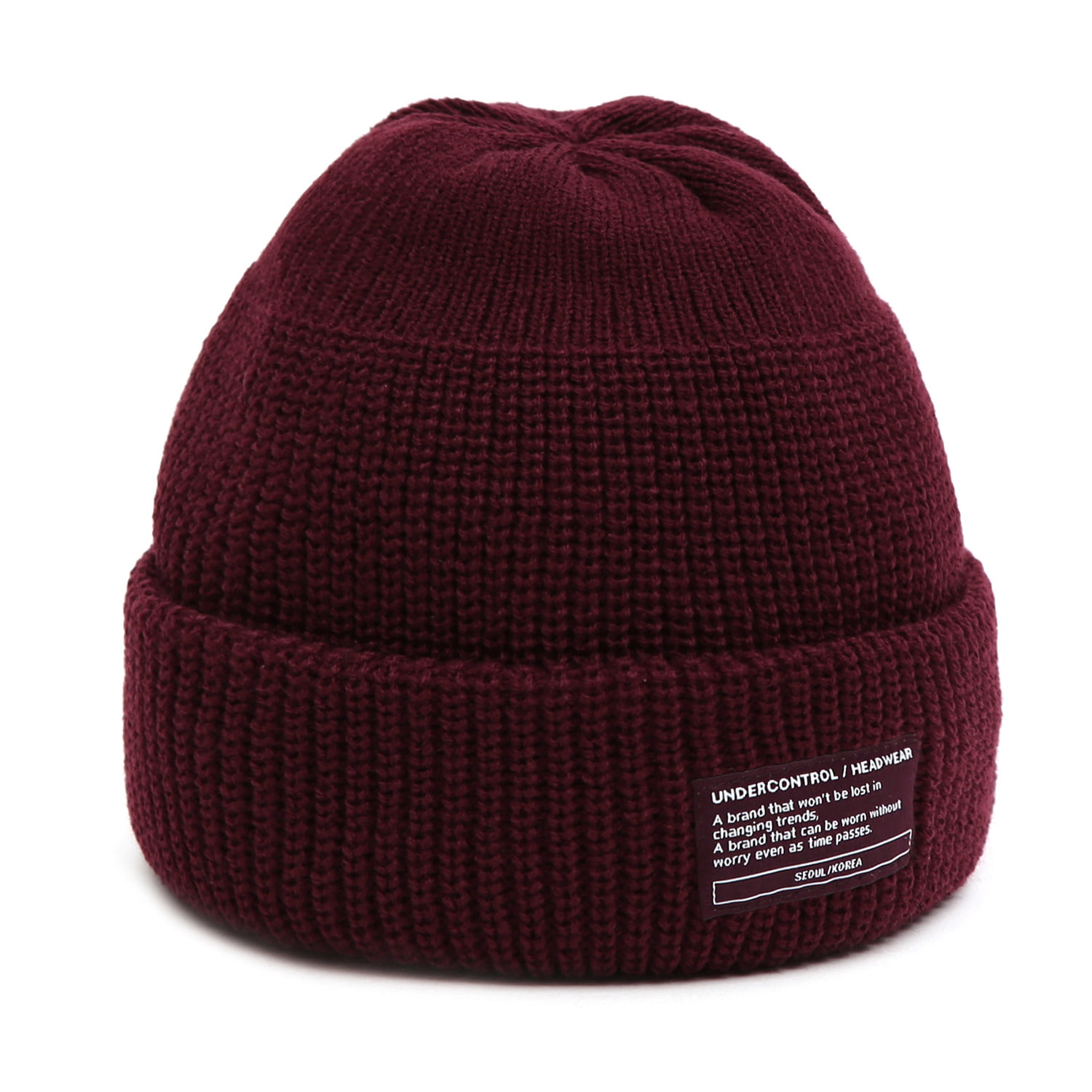 BEANIE / MONK FIT / WINE