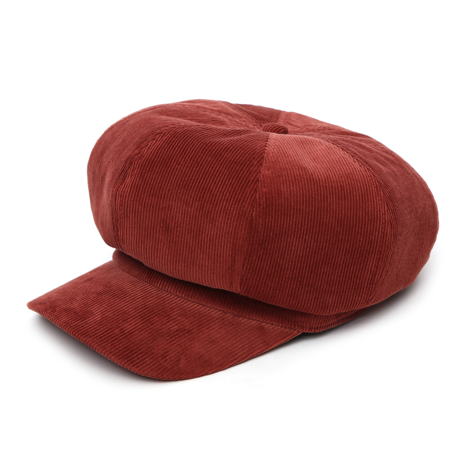 CASTRO BERET / CORDUROY / NIGHT RED