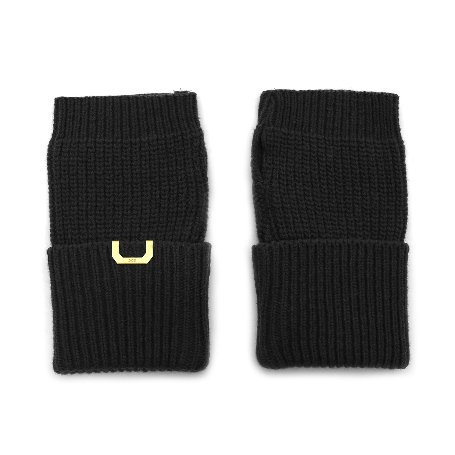 SLEEVE WARMER / LAMBS WOOL / BLACK