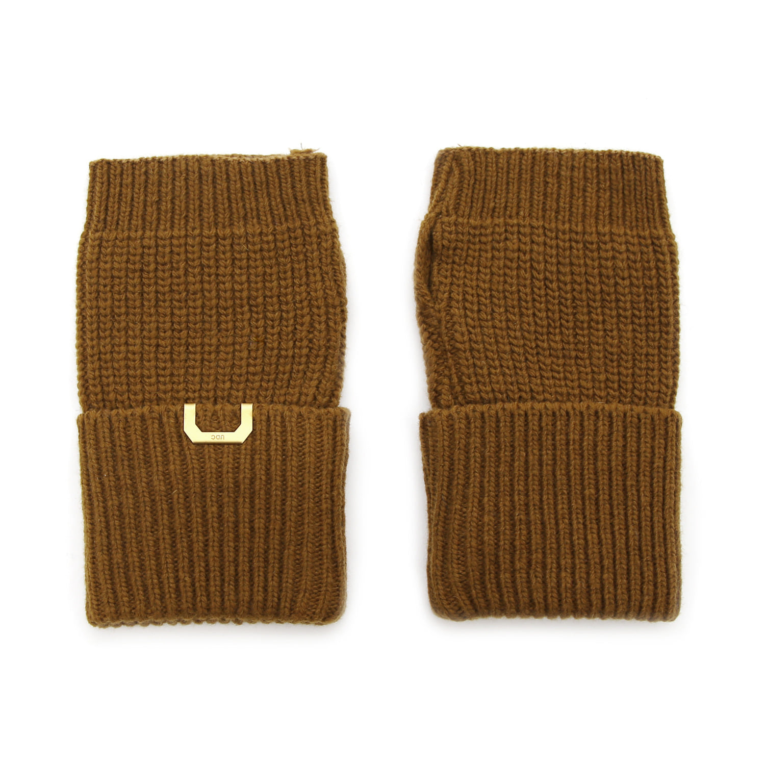 SLEEVE WARMER / LAMBS WOOL / GOLD OLIVE