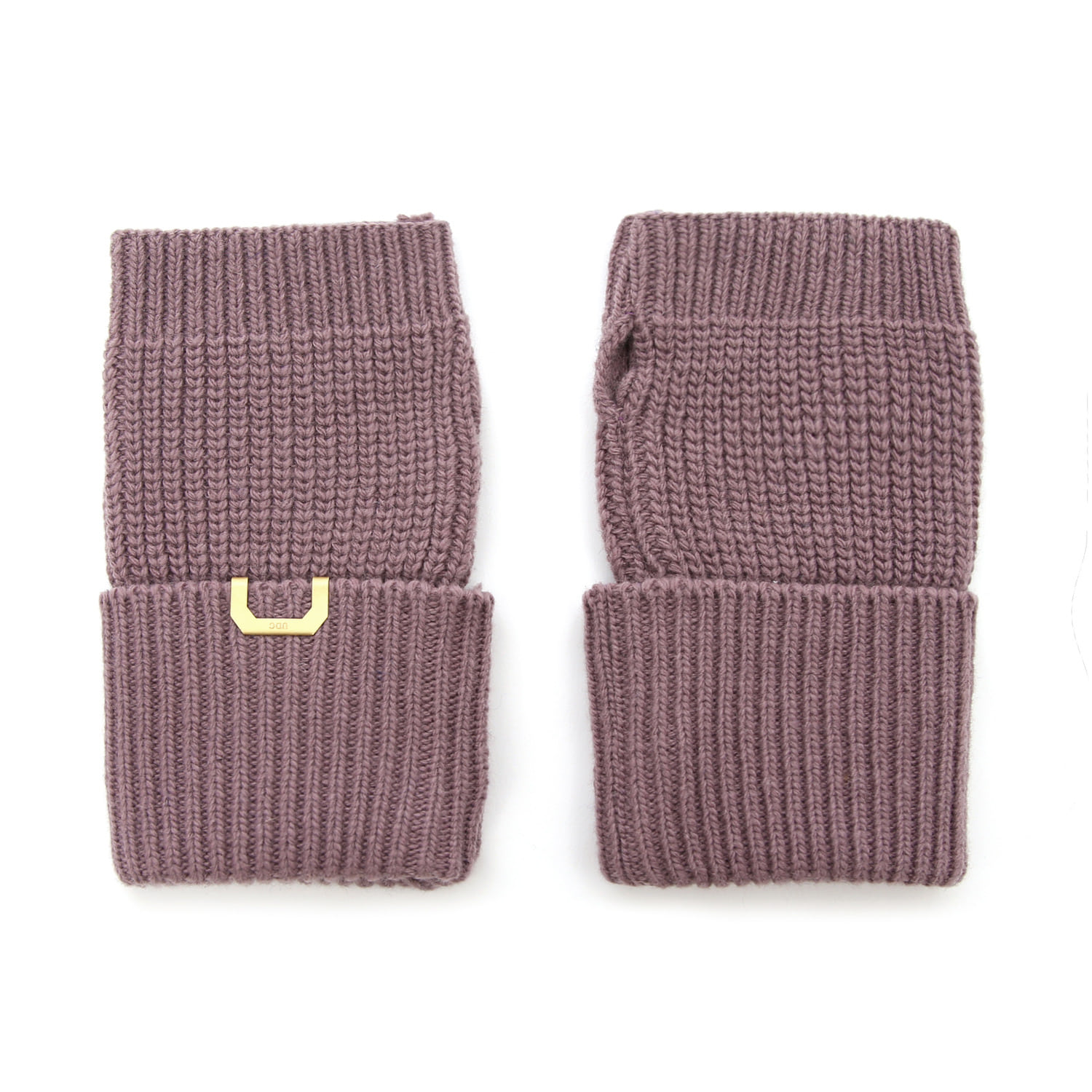 SLEEVE WARMER / LAMBS WOOL / SMOKE PURPLE