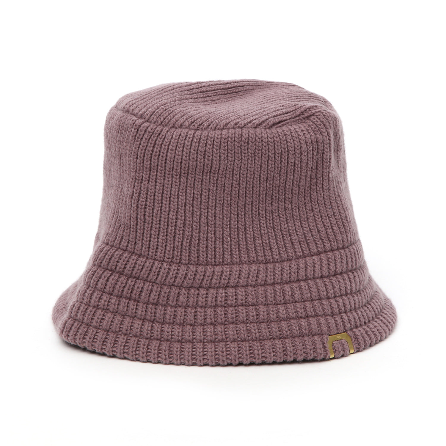 KNIT BUCKET / LAMBS WOOL / SMOKE PURPLE