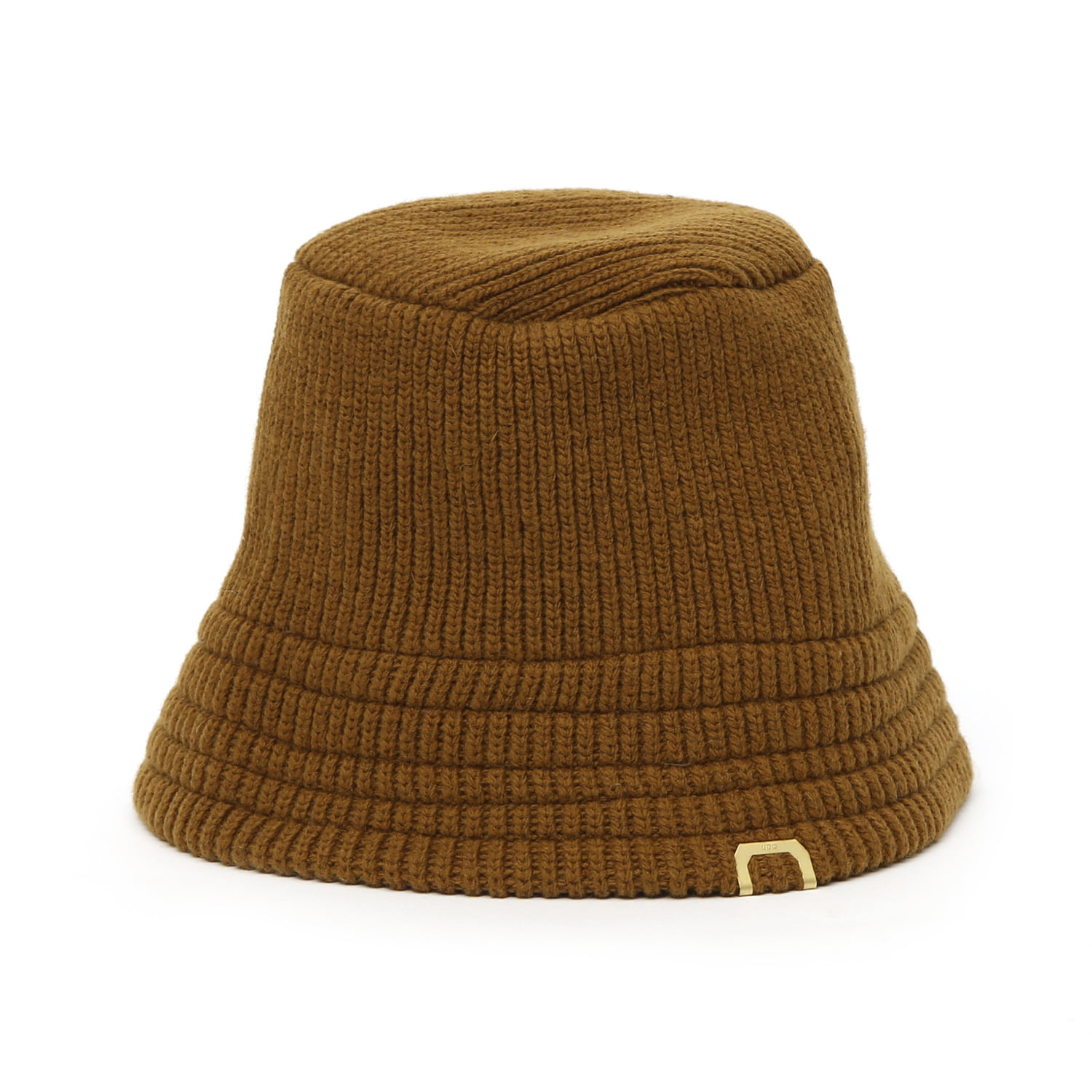 KNIT BUCKET / LAMBS WOOL / GOLD OLIVE
