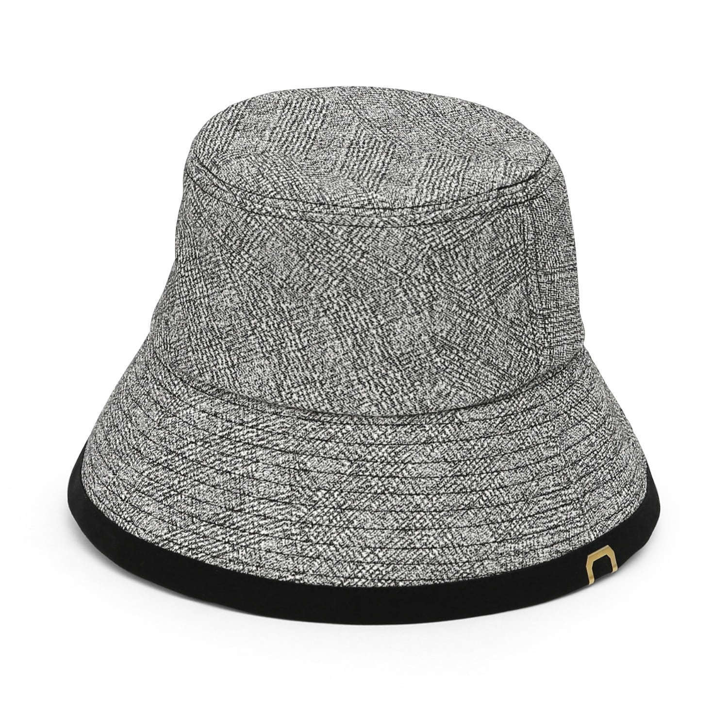 DROP BUCKET / COTTON HB / LINE BLACK
