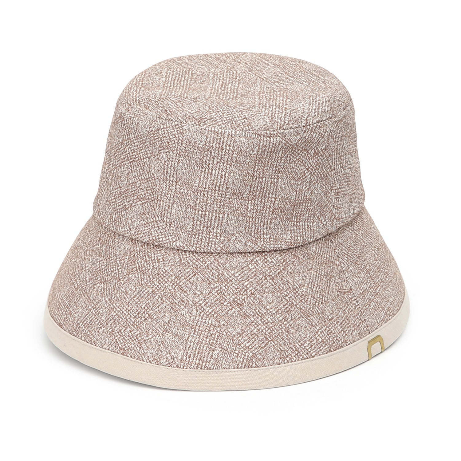 DROP BUCKET / COTTON HB / LINE BEIGE
