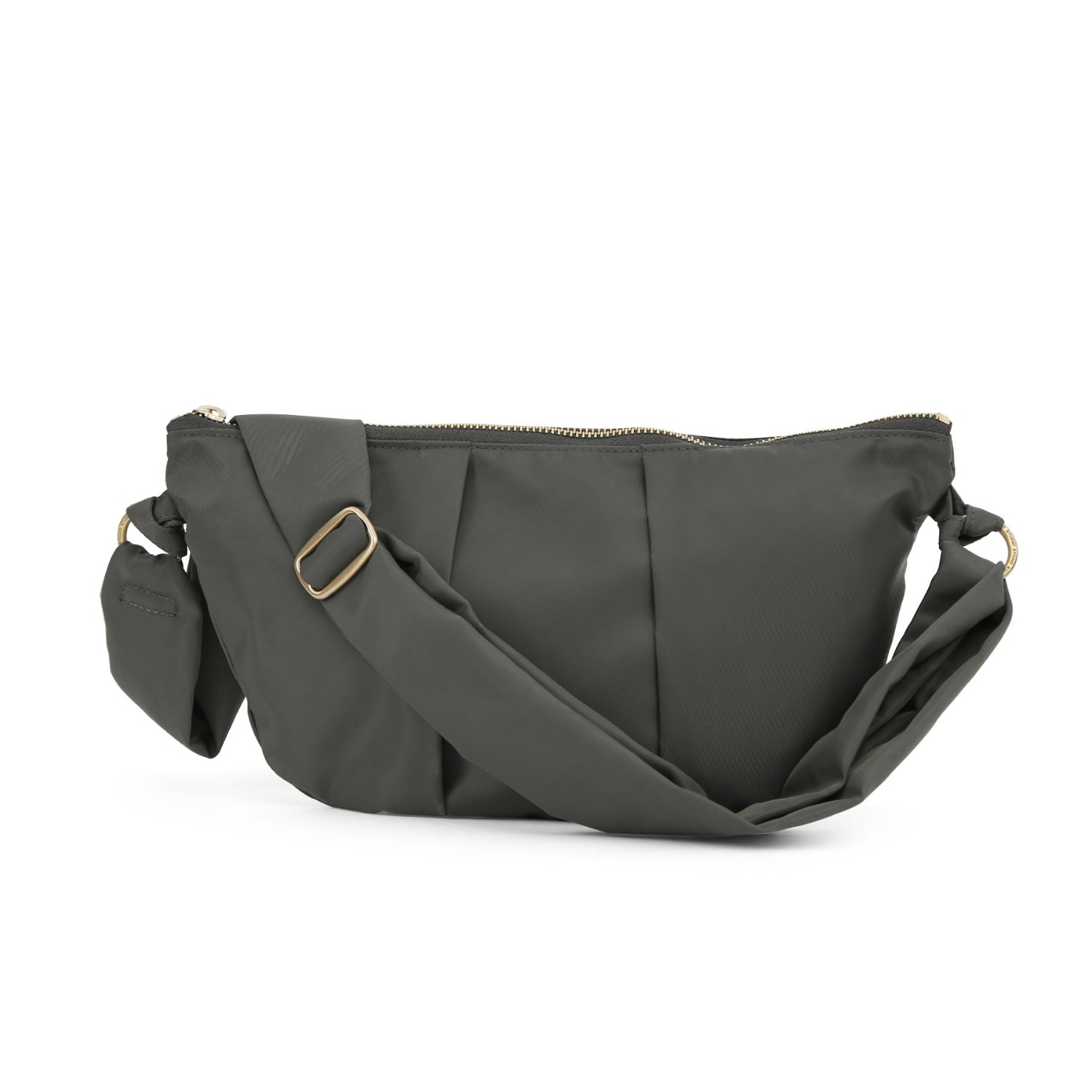 CRESCENT BAG / WRINKLE / N TWILL / OLIVE GREEN