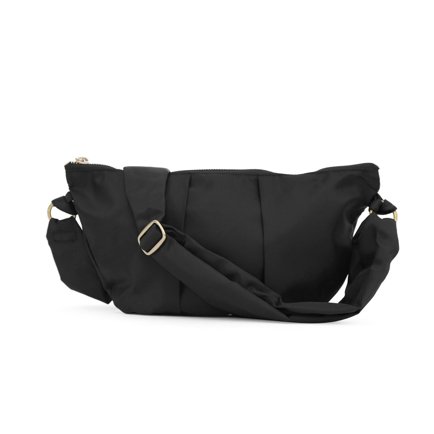 CRESCENT BAG / WRINKLE / N TWILL / BLACK