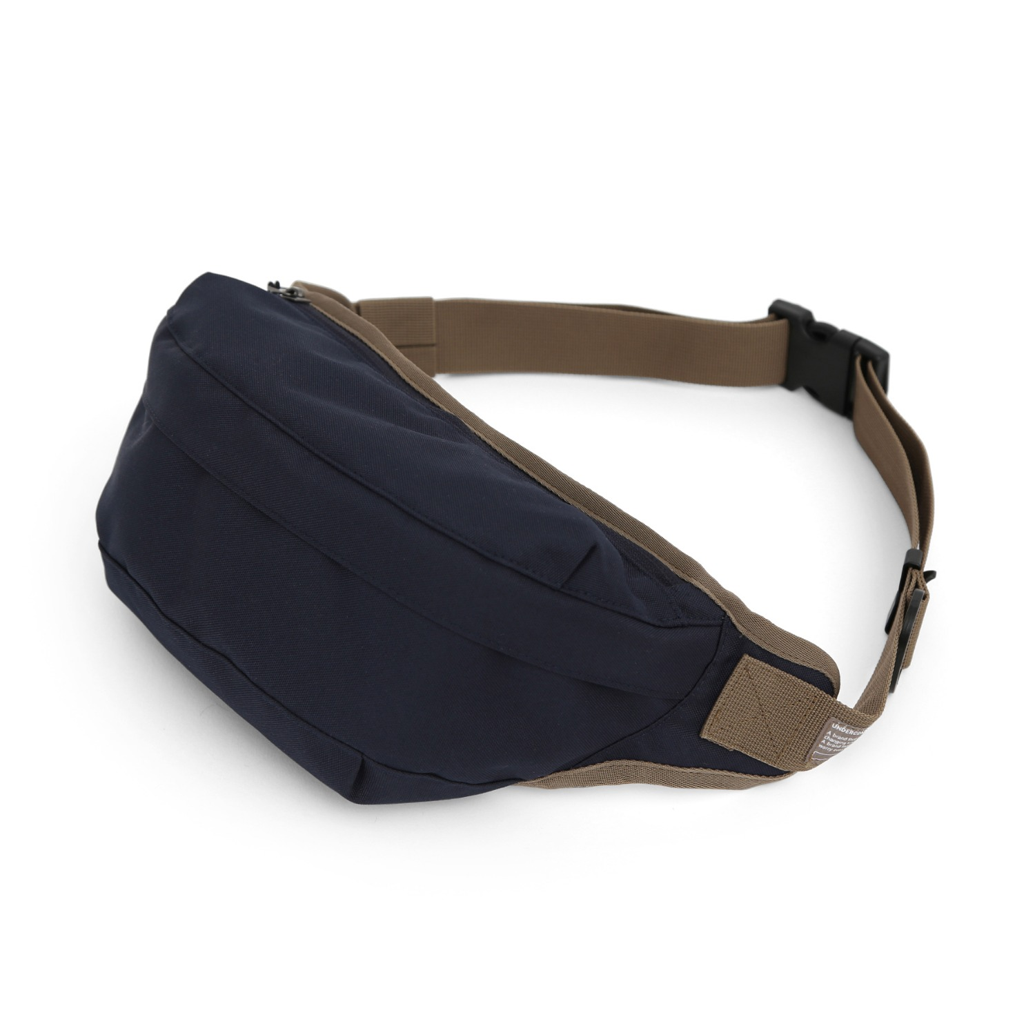 CROSS BODY BAG / COATED P / NAVY