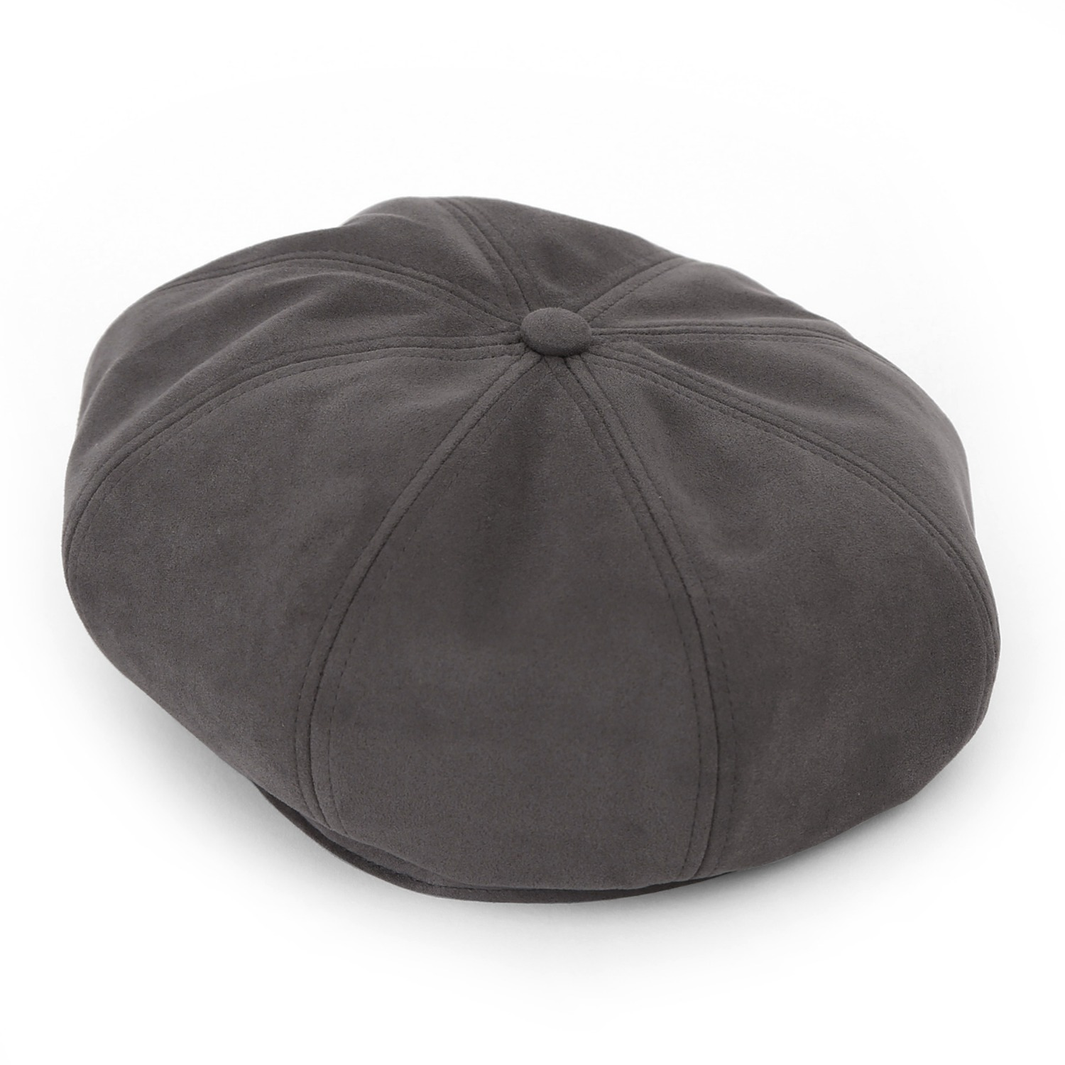 BREAD BERET / T SUEDE / SMOKE GREY