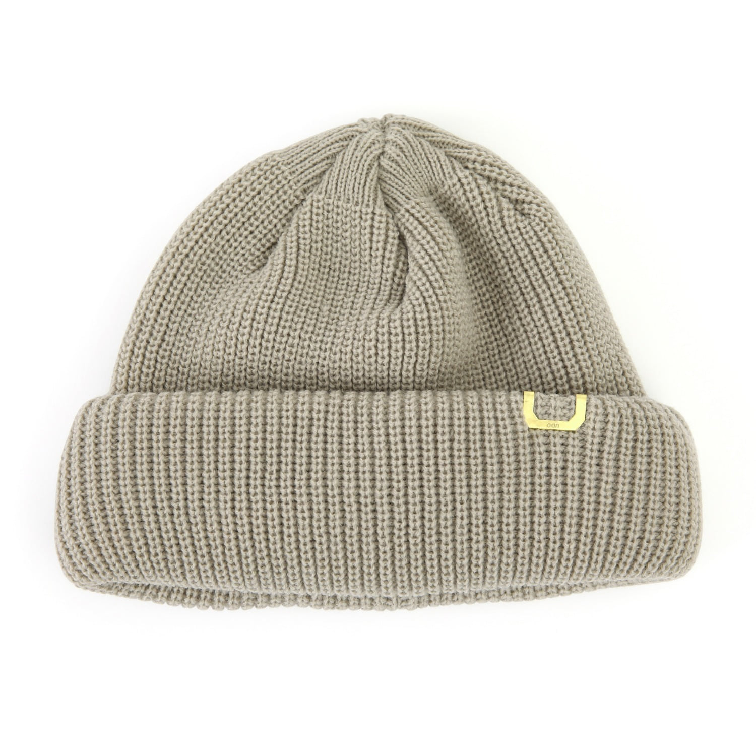 DOUBLE ROLL UP BEANIE / AC / FIELD OATMEAL