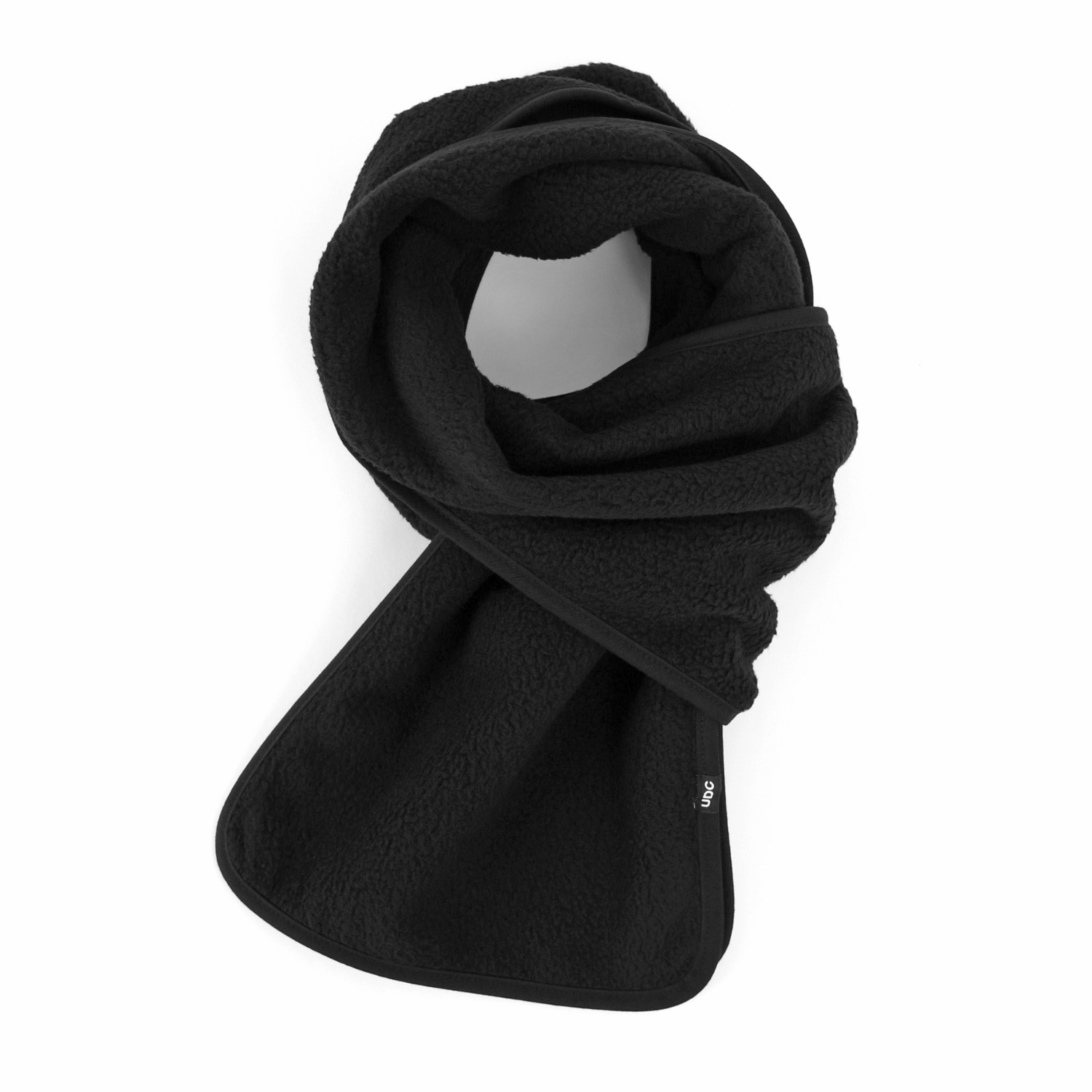ALPACA FLEECE MUFFLER / UDC / MATT BLACK