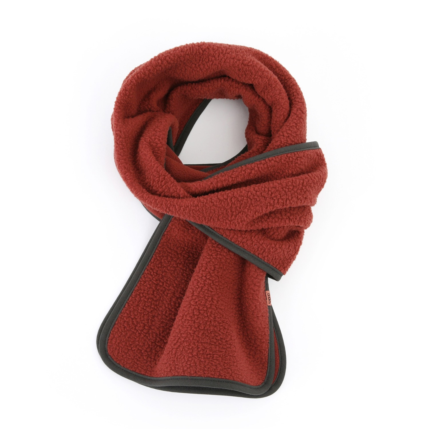 ALPACA FLEECE MUFFLER / UDC / RUBY RED