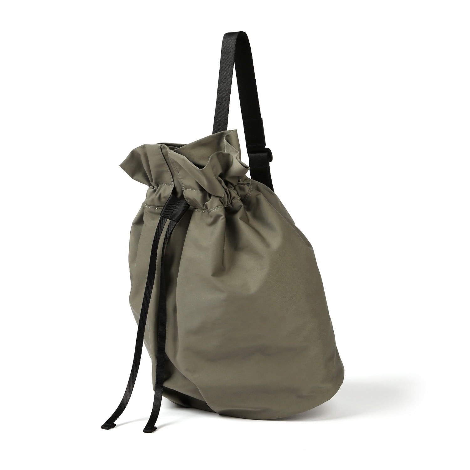 3WAY STRING BAG / WRINKLE / PC / G OLIVE