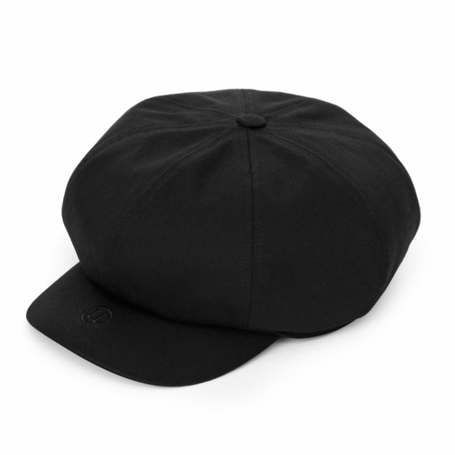 SHORT VISOR MODS CAP / V EMBO / BLACK