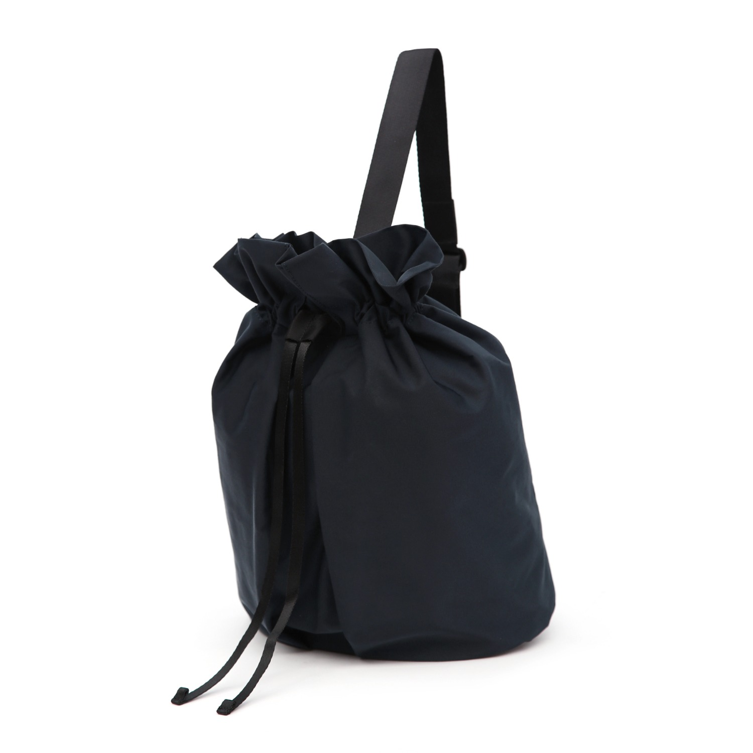 3WAY STRING BAG / WRINKLE / PC / NAVY