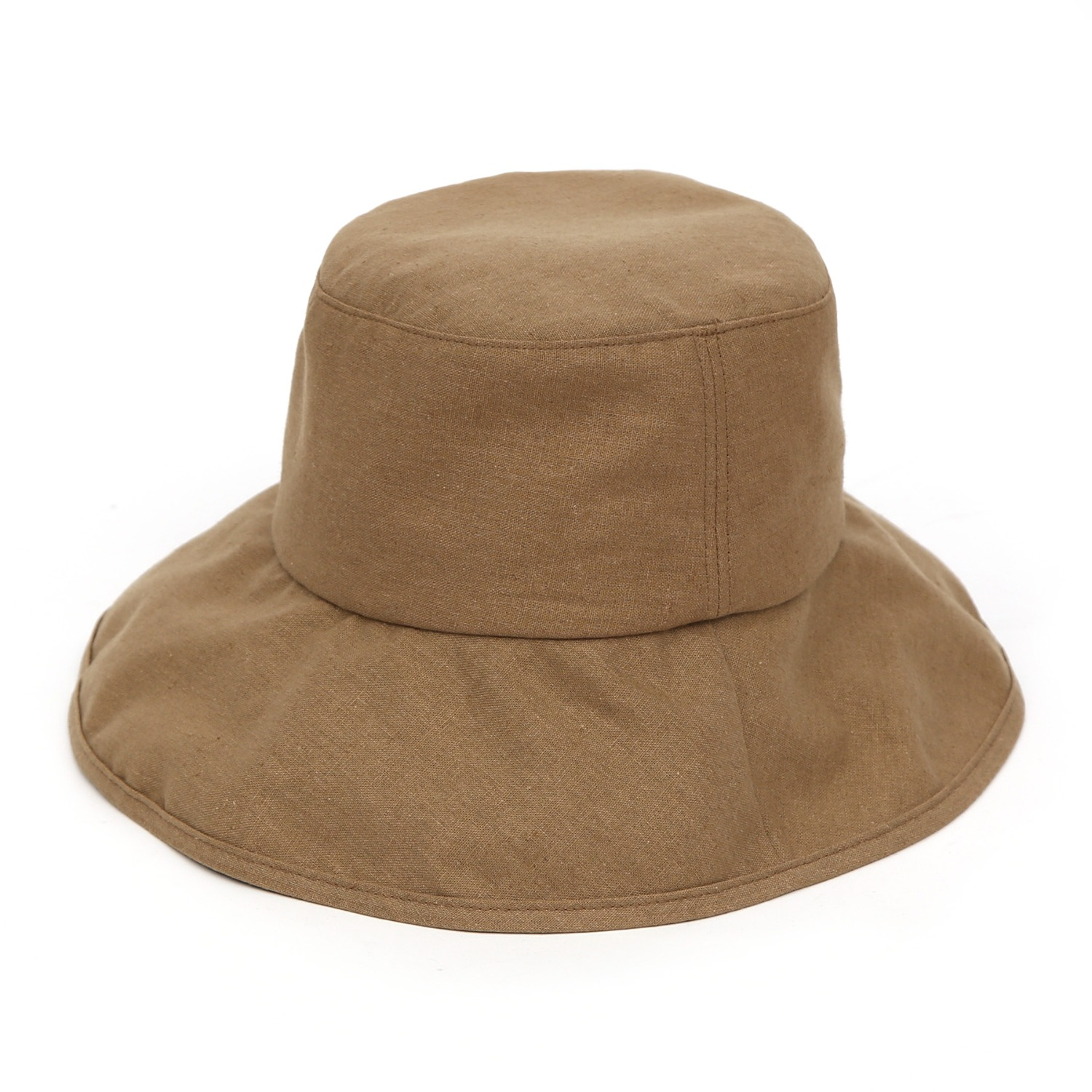 FOLD BUCKET / LINEN / FROM / S CAMEL