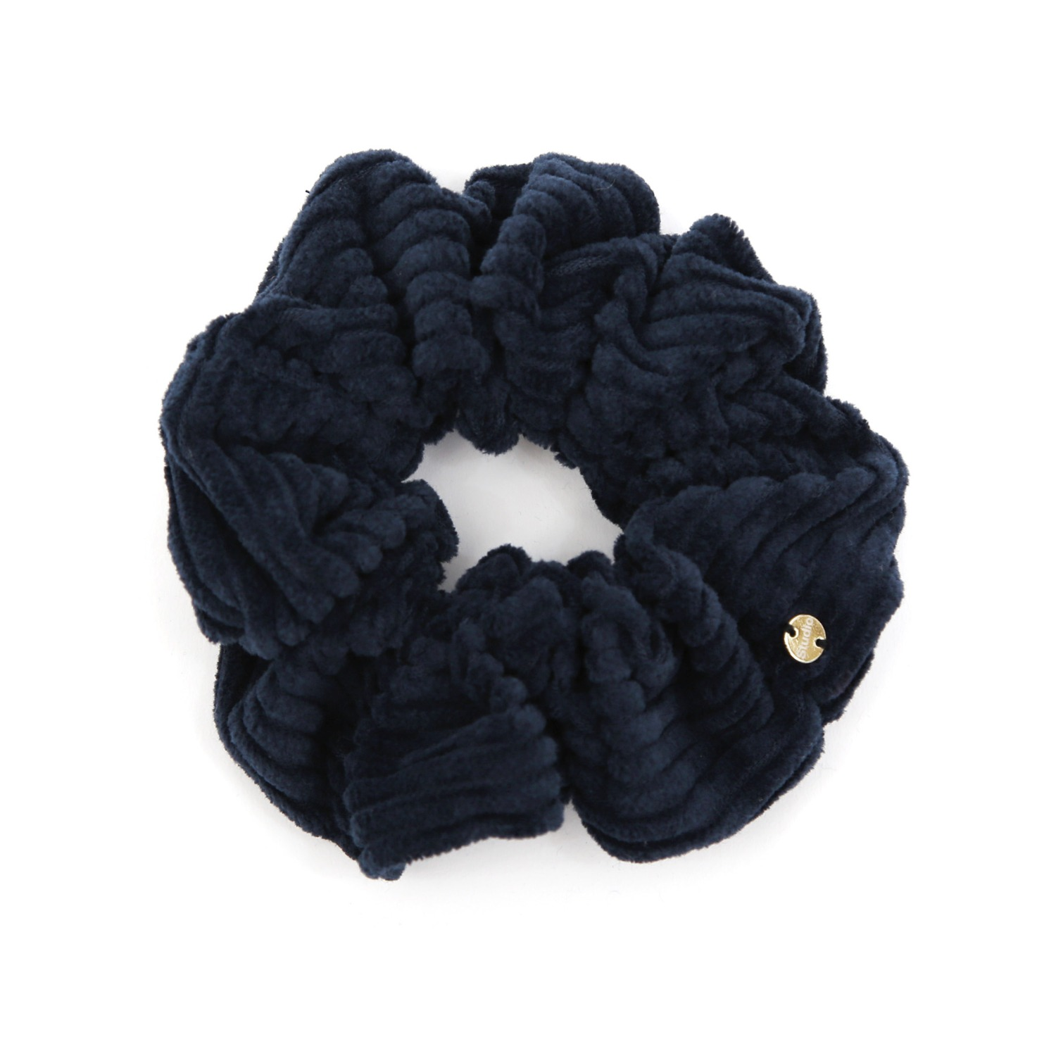 SCRUNCHIE / TINY / JEWEL / CORD NAVY