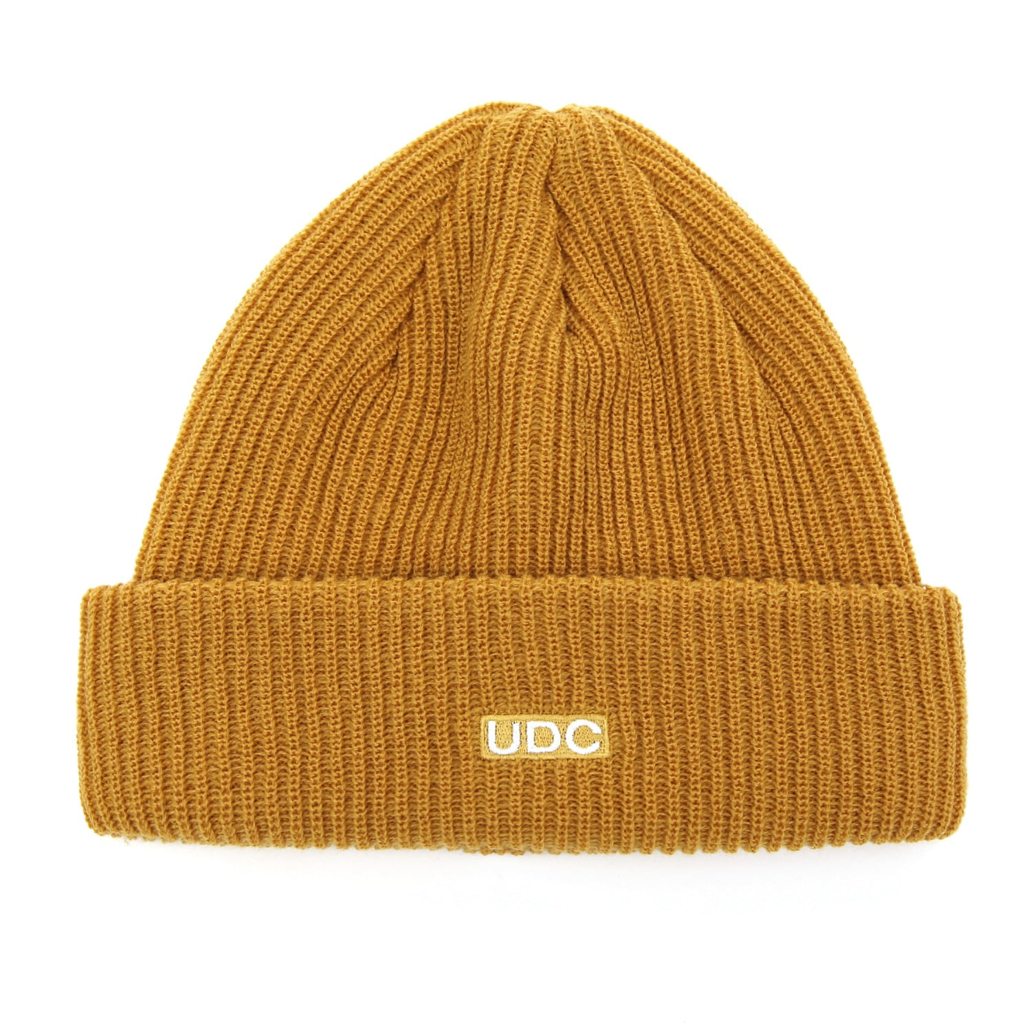 BEANIE / LONG TAIL / BOX LOGO / D MUSTARD