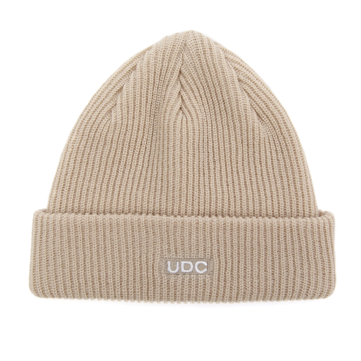 BEANIE / LONG TAIL / BOX LOGO / F OATMEAL