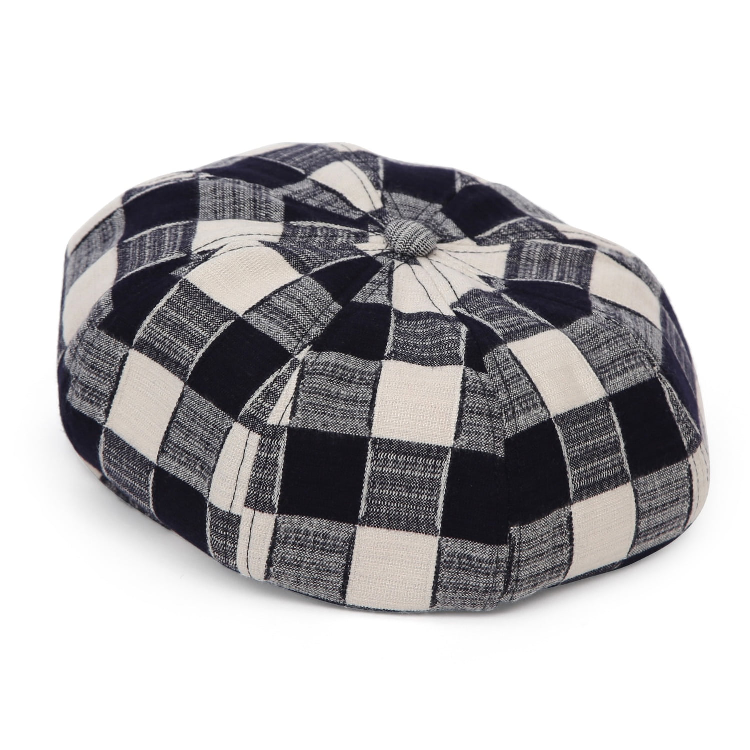 BREAD BERET / SHADE CHECK / MILK NAVY