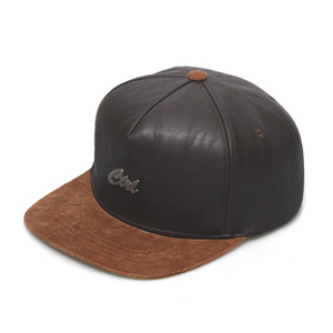STEEL LOGO / LUX BROWN