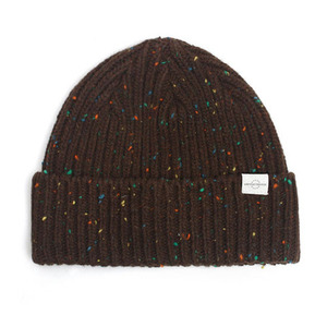 BEANIE / BOLD FIT / WOOL / NEP BROWN (BOX PACKAGE)