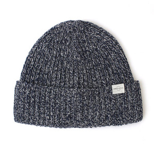 BEANIE / BOLD FIT / WOOL / CROSS NAVY