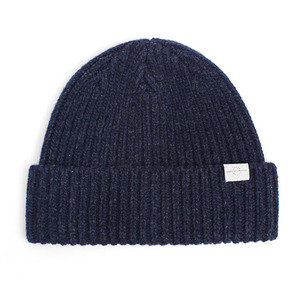 BEANIE / BOLD FIT / HTR NAVY (BOX PACKAGE)