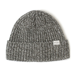 BEANIE / BOLD FIT / WOOL / CROSS GREY