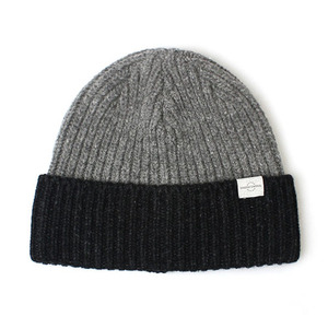 BEANIE / BOLD FIT / WOOL / BLOCK / CHARCOAL
