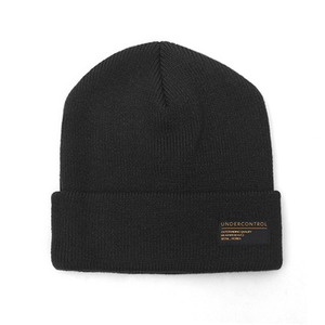 BEANIE / LOOSE FIT / AC / BOLD BLACK (BOX PACKAGE)