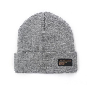 BEANIE / LOOSE FIT / AC / LIGHT GREY (BOX PACKAGE)
