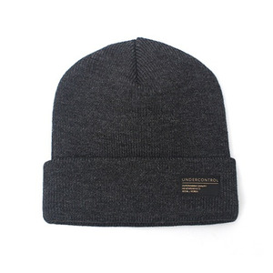 BEANIE / LOOSE FIT / AC / CHARCOAL GREY (BOX PACKAGE)