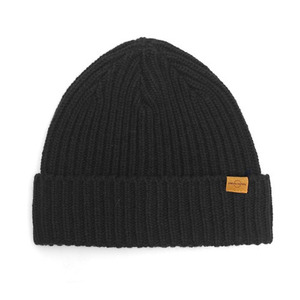 BEANIE / JUST FIT / WOOL / BOLD BLACK (BOX PACKAGE)