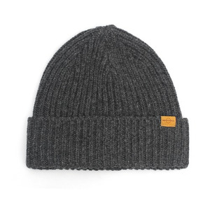 BEANIE / JUST FIT / WOOL / CHARCOAL GREY (BOX PACKAGE)