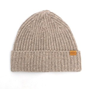 BEANIE / JUST FIT / WOOL / WOOD BEIGE (BOX PACKAGE)