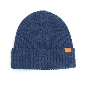 BEANIE / JUST FIT / WOOL / HEATHER BLUE (BOX PACKAGE)